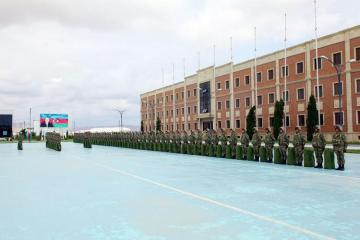 Азербайджанские военнослужащие отправились в Германию для участия в международных учениях