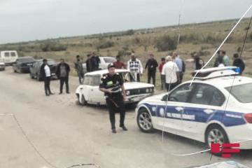 В Геранбое BMW врезался в ВАЗ и вылетел в кювет - [color=red]ФОТО[/color]