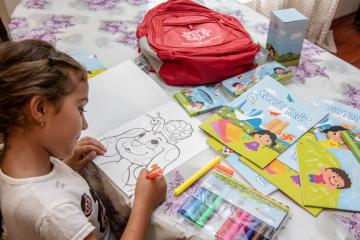 Heydar Aliyev Foundation donates school supplies to 17,000 orphans and children in low-income families