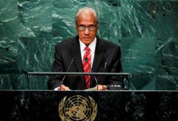 Tongan Prime Minister Pohiva, 78, dies in New Zealand