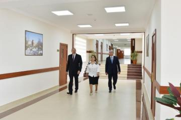 President Ilham Aliyev viewed newly-reconstructed school No 101 in Surakhani district - [color=red]UPDATED[/color]