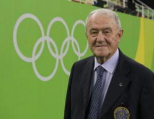 Longtime gymnastics federation president Grandi dies at 85