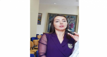 """Leyla Abdullayeva: """"Informing foreign diplomats is part of our information policy"""""""