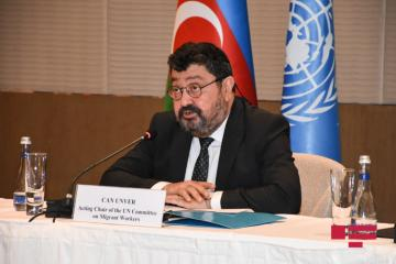 UN official: Azerbaijan government achieves great successes in migration field