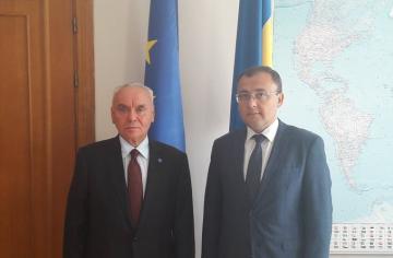 Azerbaijani deputy FM meets with Ukrainian counterpart