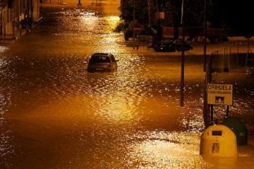 В Испании увеличилось число жертв наводнений