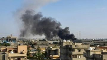 Three Libya eastern fighters killed in strike near Tripoli