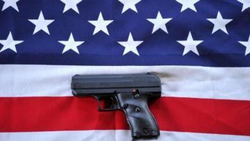 ABŞ-da üç yaşlı uşaq atasının silahı ilə təsadüfən öz başından vurub