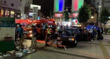 Seven injured after aged taxi driver rams into crowd in Japan's Nagoya