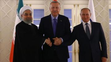 Türkiyə, Rusiya və İran prezidentlərinin Ankarada Suriya Zirvə görüşü keçirilib