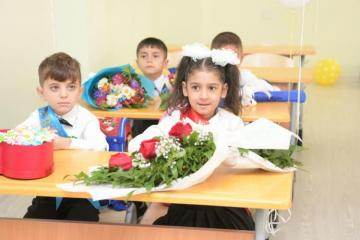 New schools and kindergarten constructed and repaired by Heydar Aliyev Foundation commissioned in Ganja