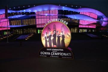 Rhythmic Gymnastics World Championship starts in Baku