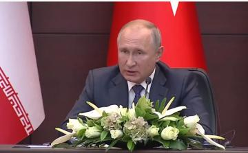 "Putin: ""Syrian constitutional committee fully formed"""