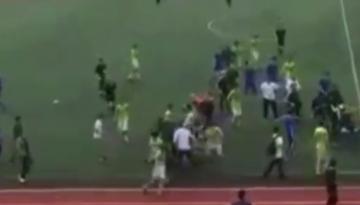 В Махачкале произошла драка на стадионе с участием около 40 человек