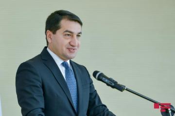 "Hikmat Hajiyev: ""Issue of joining CSTO is not on Azerbaijan's agenda"""