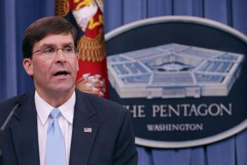 Pentagon chief calls Russia biggest threats to American security