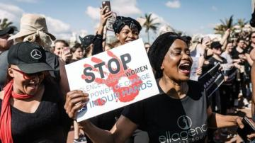 Violence against women in S Africa 'like a war'