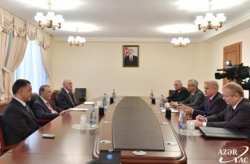 Head of Presidential Administration of Azerbaijan meets with State Secretary of Belarus' Security Council