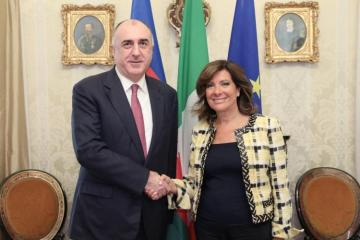 Azerbaijani FM met with President of Italian Senate