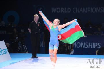 Azərbaycan güləşçisi yenidən dünya çempionu olub