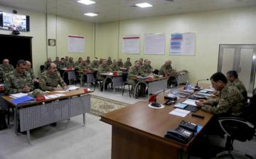 Azerbaijan Defense Minister has been reported on the progress of exercises