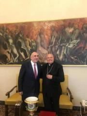 Azerbaijani FM meets with the Vatican Prefect of the Congregation for the Oriental Churches