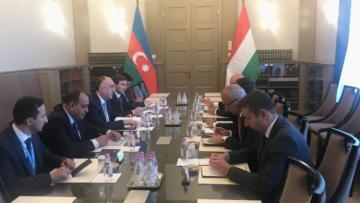 Azerbaijani Foreign Minister met with his Hungarian counterpart
