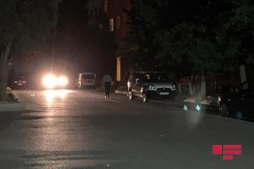 В Баку сбит полицейский, водитель скрылся