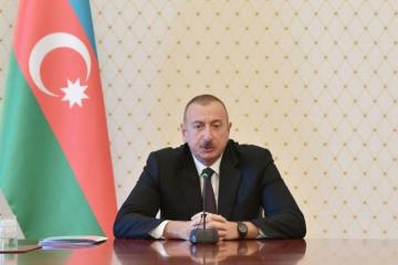 President Ilham Aliyev congratulates his Maltese counterpart