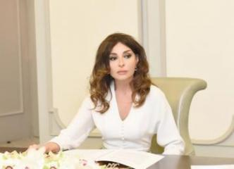 "First Vice-President Mehriban Aliyeva shares post on the occasion of 25th anniversary of signing the ""Contract of the Century"" on her Instagram account"