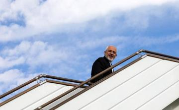 Iran FM Zarif off to New York