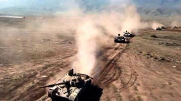Azərbaycan Ordusunun genişmiqyaslı əməliyyat-taktiki təlimlərinin döyüş atışlı əsas mərhələsi icra olunub