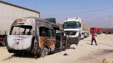 Islamic State claims responsibility for Iraq bus bombing that killed 12