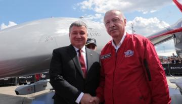 Ukrainian Interior Minister and Turkish President discuss cooperation in aviation security