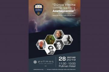 Brochure about Azerbaijanis who contributed to world science to be presented in English for the first time