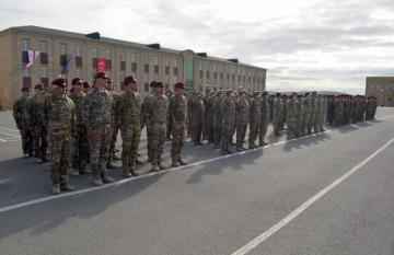 Bakıda Azərbaycan, Türkiyə və Gürcüstan xüsusi təyinatlılarının birgə təlimi keçirilir - [color=red]VİDEO[/color]