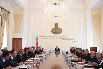 Cabinet of Ministers of Azerbaijan discussed the state budget