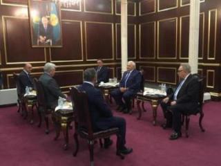 Speaker of Azerbaijan's Parliament Ogtay Asadov visits Kazakhstan
