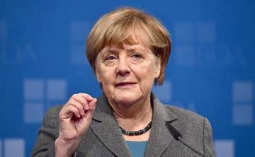 Merkel wants U.S., Iran talks but can't see sanctions lifted first