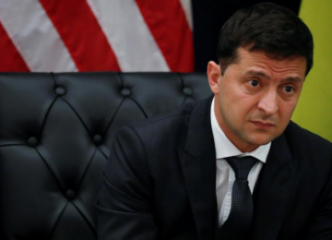 Ukraine president says was not pushed by Trump to act on Biden