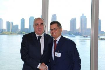 Elmar Mammadyarov held meeting with President of Center for International Relations and Sustainable Development