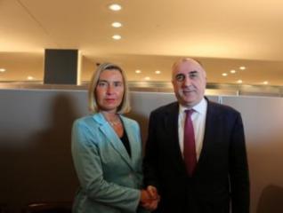 Эльмар Мамедъяров встретился с верховным представителем ЕС по иностранным делам и политике безопасности
