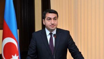 "Hikmet Hajiyev: ""Model for resolving the Nagorno-Karabakh conflict outside the territorial integrity of Azerbaijan, does not exist"""