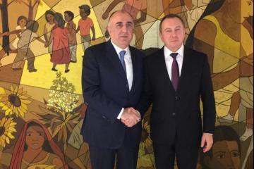 Эльмар Мамедъяров встретился с министром иностранных дел Беларуси