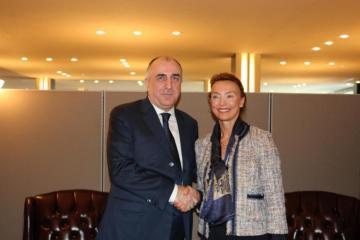 Эльмар Мамедъяров встретился с генсеком Совета Европы