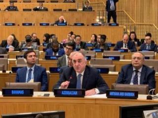 "Azerbaijani FM: ""Armenia continues apparently disregard the UN Security Council resolutions"""