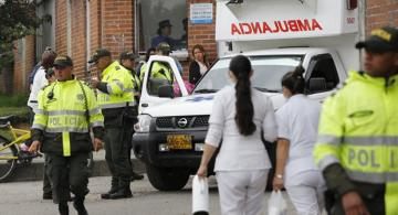 Several people injured in explosion in University in Colombia capital