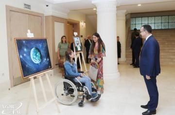 Лейла Алиева присутствовала на премьере антрепризы «Насими» - [color=red]ФОТО[/color]