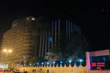 İctimai Televiziyanın binasında baş vermiş yanğın söndürülüb - [color=red]FOTO[/color] - [color=red]YENİLƏNİB[/color]