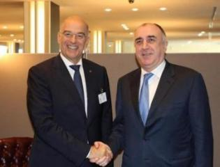 Elmar Mammadyarov met with the Minister of Foreign Affairs of the Hellenic Republic